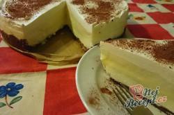 Příprava receptu Nepečený dort s vanilkovým krémem, krok 14