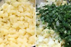 Příprava receptu Pastýřské plněné placky - jídlo chudých, krok 2