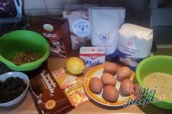Příprava receptu Čokoládová bábovka s vlašskými ořechy - FOTOPOSTUP, krok 1