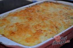 Příprava receptu Pečená rýže se šunkou a sýrem, krok 4