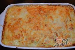 Příprava receptu Pečená rýže se šunkou a sýrem, krok 3