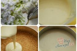 Příprava receptu Cheesecake {pečeně nepečený} s jahodami, krok 2