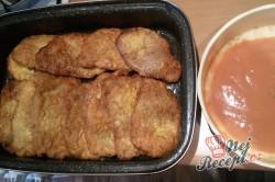 Příprava receptu Vepřové řízky zapékané v marinádě, krok 8