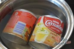 Příprava receptu Karamelový zákusek na oplatce, krok 1