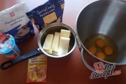 Příprava receptu Nejjednodušší punčový řez, krok 1