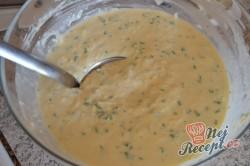 Příprava receptu Nejlepší slané palačinky s česnekem, sýrem a bylinkami, krok 6