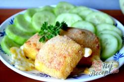 Příprava receptu Výborný sýr v trojobale pečený v troubě - chutná jako smažený!, krok 7