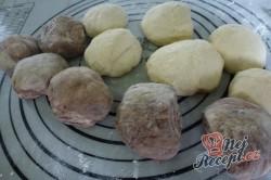 Příprava receptu Extra jemné, lahodné croissanty s čokoládou, krok 3