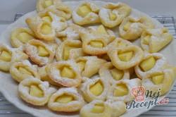 Příprava receptu Tvarohové křehoučké koláčky ke kafíčku, krok 7