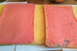 Příprava receptu Punčový řez jako z cukrárny, krok 4