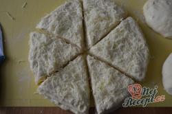 Příprava receptu Sýrové croissanty, krok 11