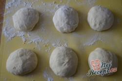 Příprava receptu Sýrové croissanty, krok 7