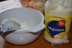 Příprava receptu Super chutný zelný salát s mrkví jako z restaurace, krok 4