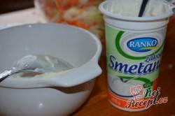 Příprava receptu Super chutný zelný salát s mrkví jako z restaurace, krok 5