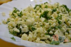 Příprava receptu Výborné jogurtové placky plněné lahodným sýrem připravené za 30 minut, krok 5