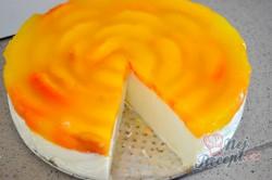 Příprava receptu Tvarohový koláč bez vajec a pečení, krok 9