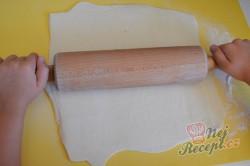 Příprava receptu Krémové řezy s jablky, krok 1