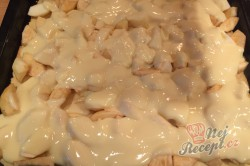 Příprava receptu Fantastický koláček jablíčka v oblacích, krok 8
