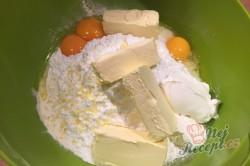 Příprava receptu Fantastický koláček jablíčka v oblacích, krok 2