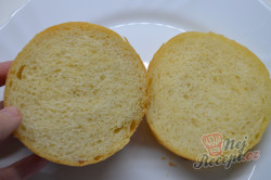 Příprava receptu Domácí hamburgery (nejlepší hamburgerové housky), krok 7