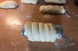 Příprava receptu Domácí trdelníky pečené na plechovce od piva, krok 5
