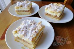 Příprava receptu Jablečné tornádo - fantastický strouhaný jablečný koláček s pudinkem, krok 1