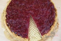 Příprava receptu Malinový cheesecake, krok 1