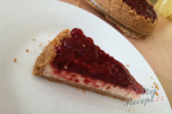 Příprava receptu Malinový cheesecake, krok 2