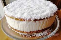 Příprava receptu Jednoduchý kokosový dort, krok 1