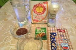 Příprava receptu Zázračný chlebíček bez hnětení, krok 1