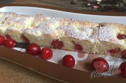 Příprava receptu Maďarský tvarohový koláč s třešněmi, krok 11