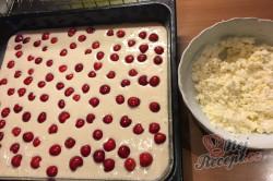 Příprava receptu Maďarský tvarohový koláč s třešněmi, krok 6