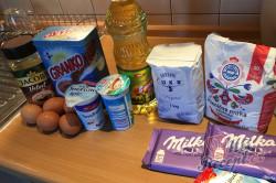 Příprava receptu Velmi šťavnatý Milka koláček z hrnečku, krok 1