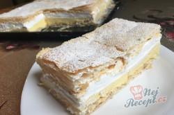 Příprava receptu Falešný francouzský krémeš z listového těsta, krok 15