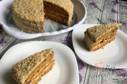 Příprava receptu Mrkvový dort ZAJÍČEK, krok 20