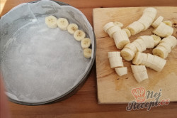Příprava receptu Bleskový banánový dort - potěšení pro opičku, krok 2
