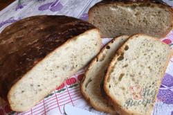 Příprava receptu Bramborový chlebíček i pro úplné začátečníky - starodávné těsto bez práce., krok 12