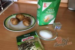 Příprava receptu Bramborový chlebíček i pro úplné začátečníky - starodávné těsto bez práce., krok 1
