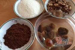 Příprava receptu FITNESS kokosový dort s banány - FOTOPOSTUP, krok 1