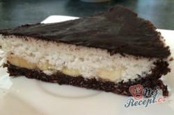 Příprava receptu FITNESS kokosový dort s banány - FOTOPOSTUP, krok 15