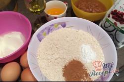 Příprava receptu FITNESS bábovka z jablek a ovesných vloček, krok 1
