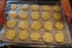 Příprava receptu Šneci z kynutého těsta, krok 3