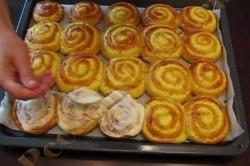 Příprava receptu Šneci z kynutého těsta, krok 6