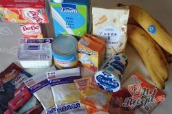 Příprava receptu Famózní nepečené ovocné řezy, krok 1