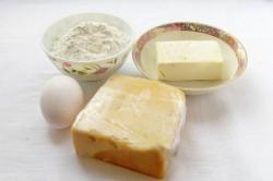 Příprava receptu Párty sýrové krekry ze 4 surovin, krok 1