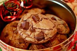 Příprava receptu Domácí čokoládové sušenky, krok 8