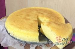 Příprava receptu Japonský cheesecake JEN ze tří surovin, krok 8