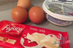 Příprava receptu Japonský cheesecake JEN ze tří surovin, krok 1