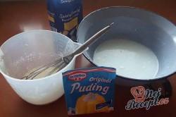Příprava receptu Banánové řezy alá pribináček, krok 5