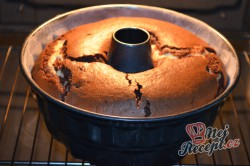 Příprava receptu Bábovka s tvarohem, krok 4